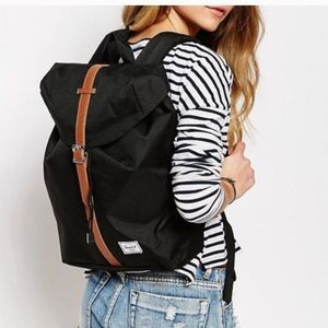 🖤Herschel Backpack Post Mid Volume Black